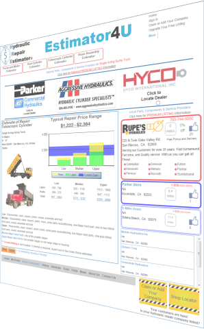 Telescopic Cylinder Hydraulic Repair Estimate Page
